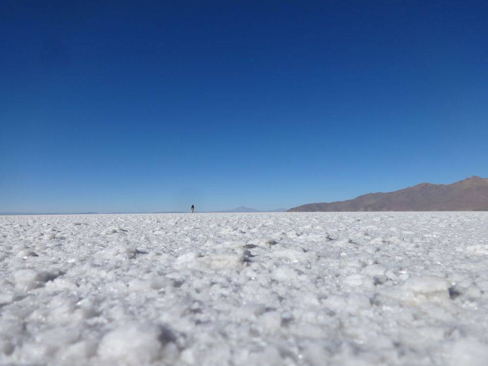 Photo 1: Salar de Uyuni - Bolivie