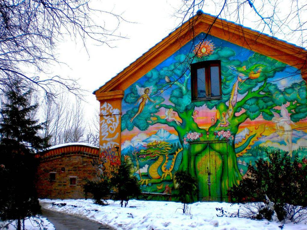 Photo 1: Christiania ou la ville dans la ville