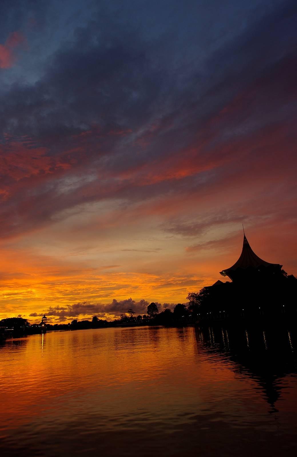 Photo 1: Balade au couché de soleil à Kuching