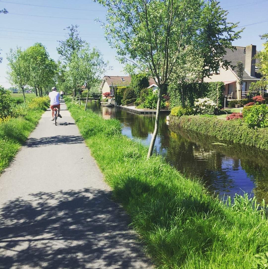 Photo 2: Balade à vélo aux moulins de Kinderdijk
