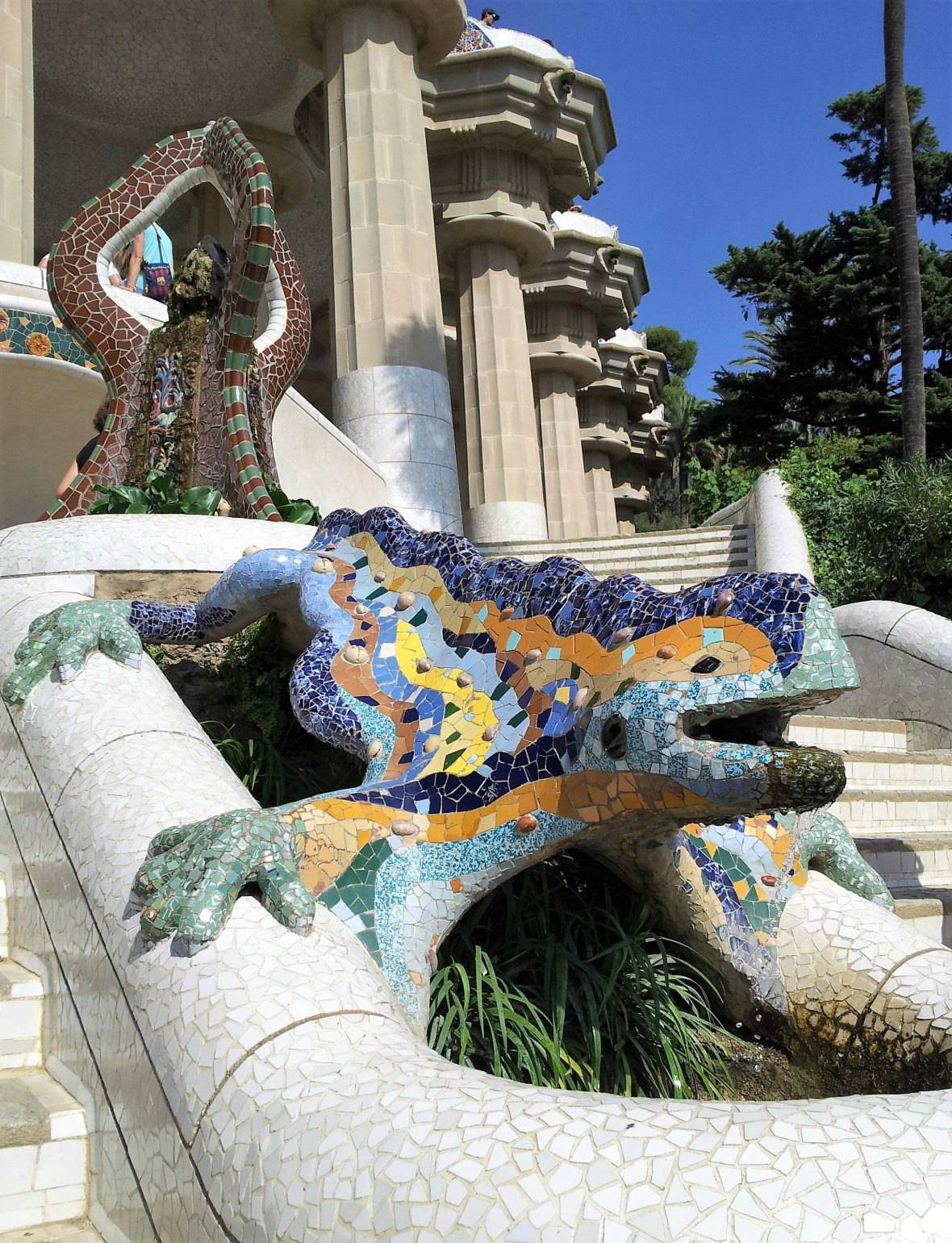 Photo 1: Parc Guell - Barcelone