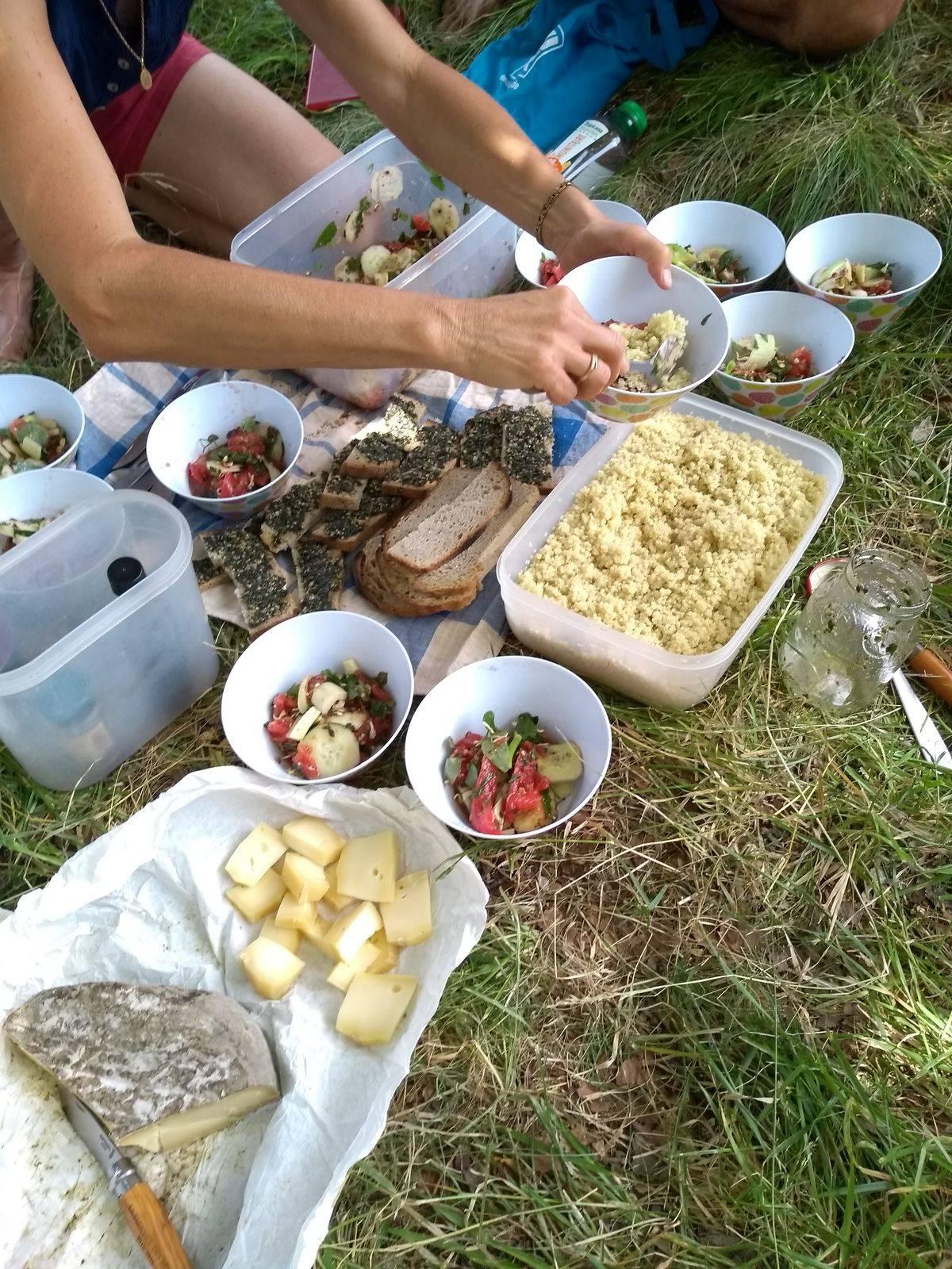 Photo 2: Stage découverte de la cueillette et cuisine des plantes sauvages