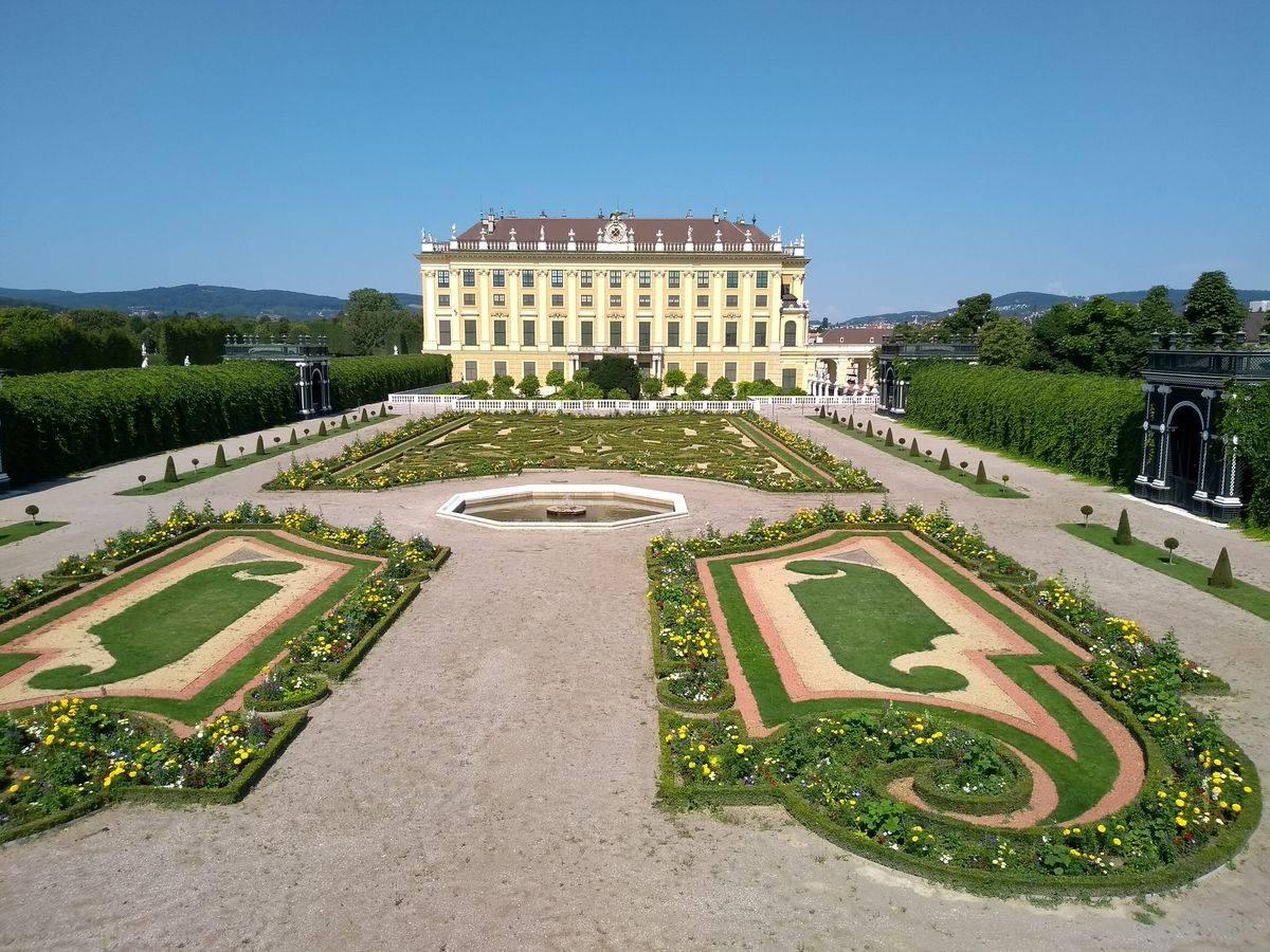Photo 3: Le palace de Sissi l'impératrice ! Le château de Schönbrunn !