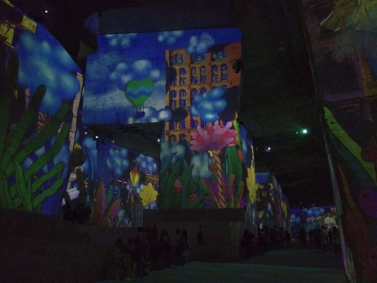 Photo 1: Les Carrières de lumières, un spectacle exceptionnel et au frais !