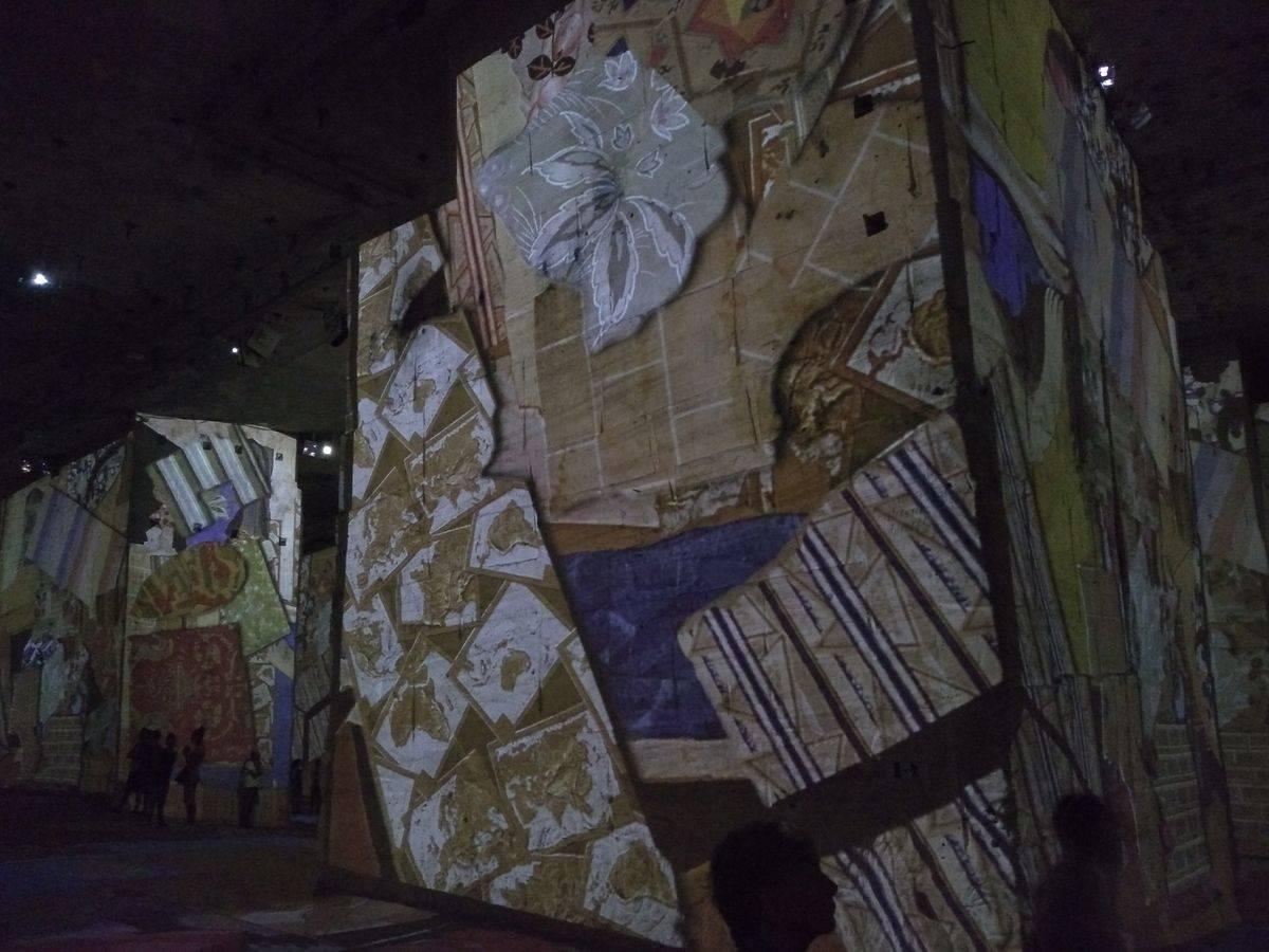 Photo 2: Les Carrières de lumières, un spectacle exceptionnel et au frais !