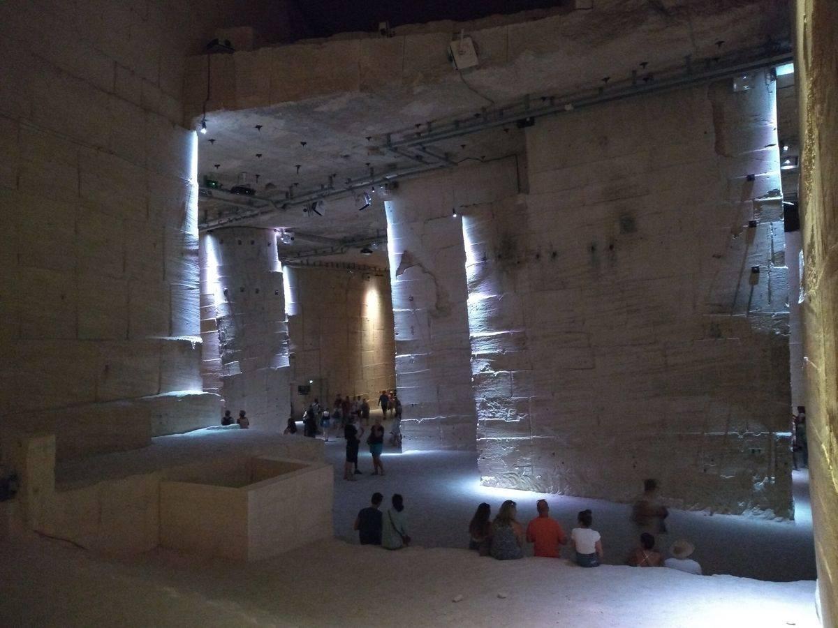 Photo 3: Les Carrières de lumières, un spectacle exceptionnel et au frais !