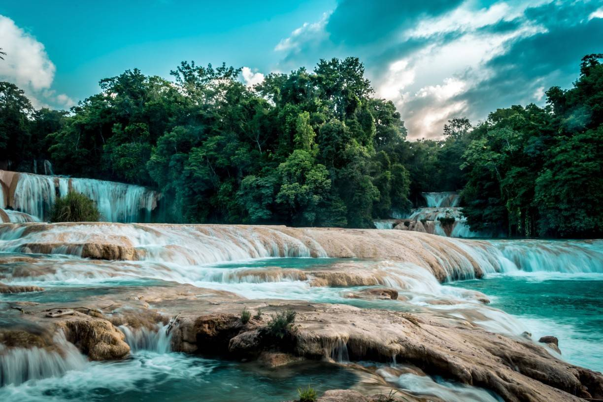 Photo 1: Agua Azul, Chiapas, Mexique