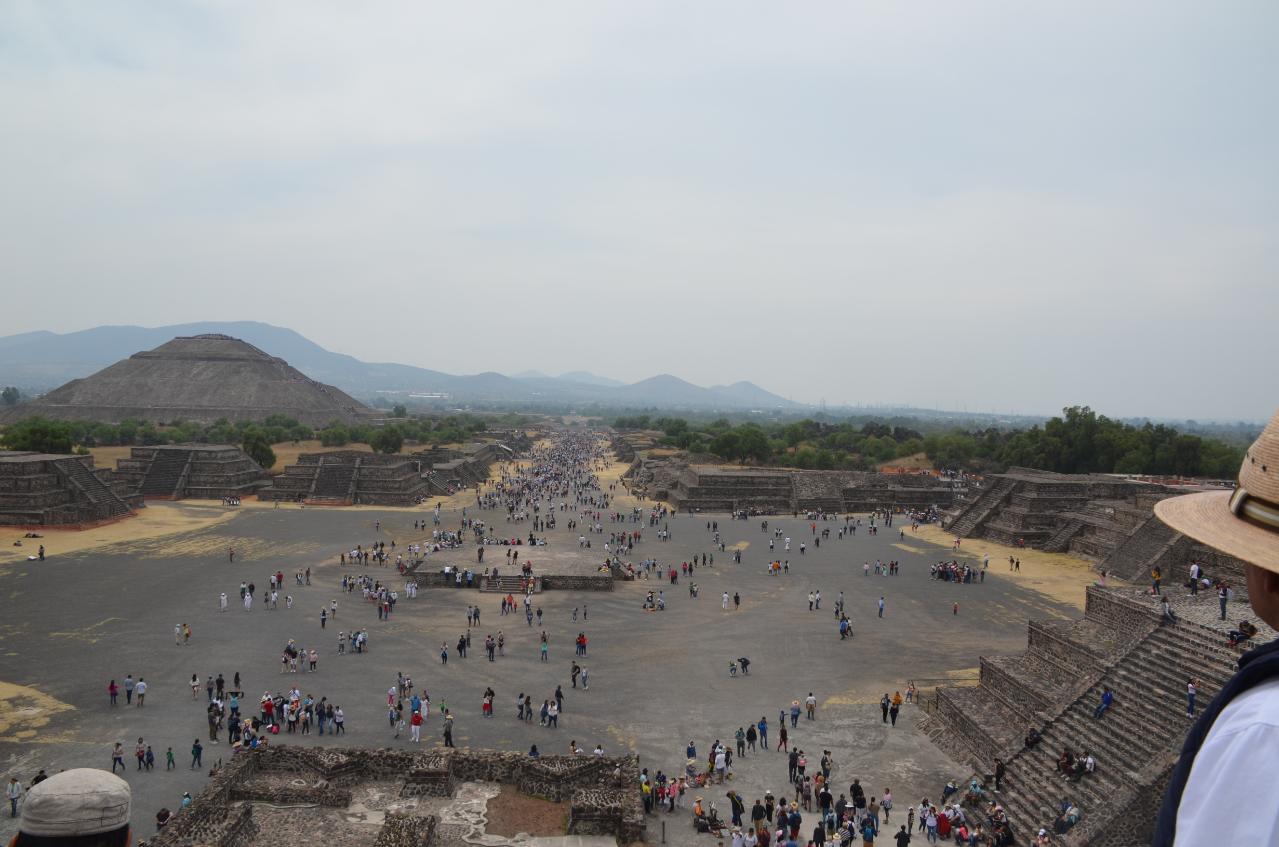 Photo 3: Teotihuacan, une merveille au nord de Mexico City