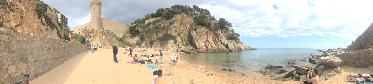 Photo 3: Platja d'es codolar à tossa de mar
