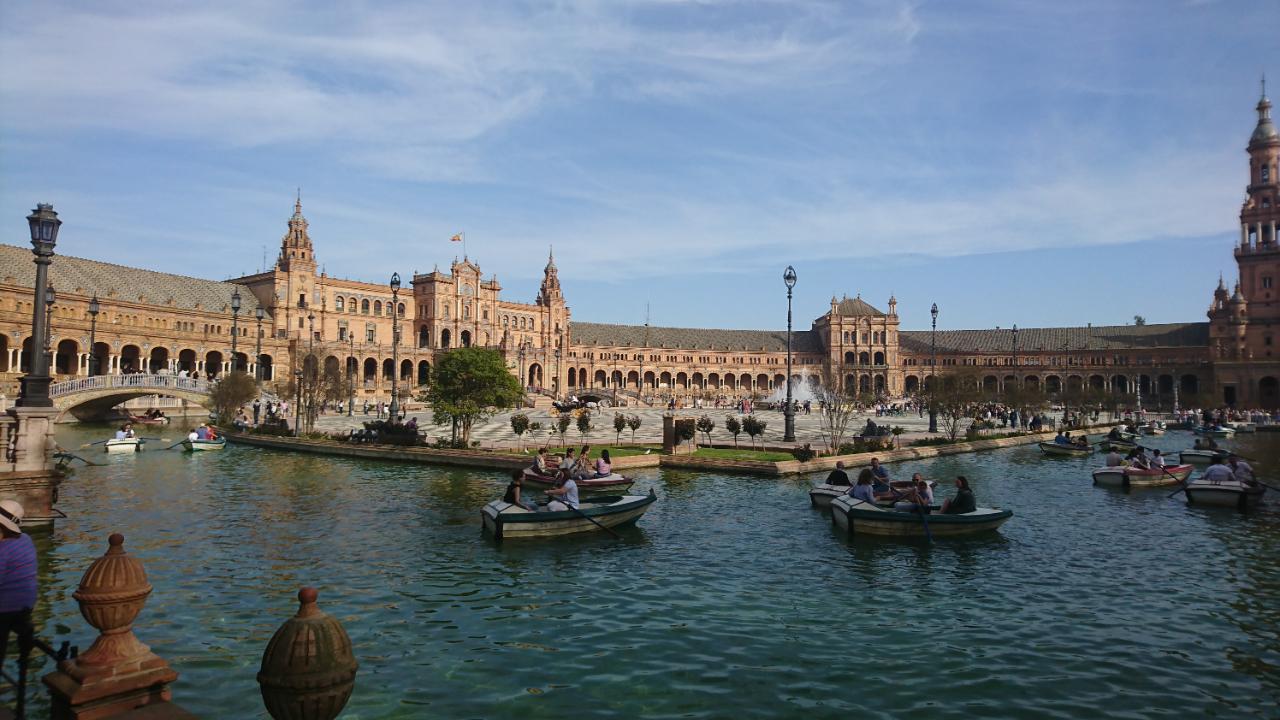 Photo 1: Plaza de Espana, un endroit juste magique