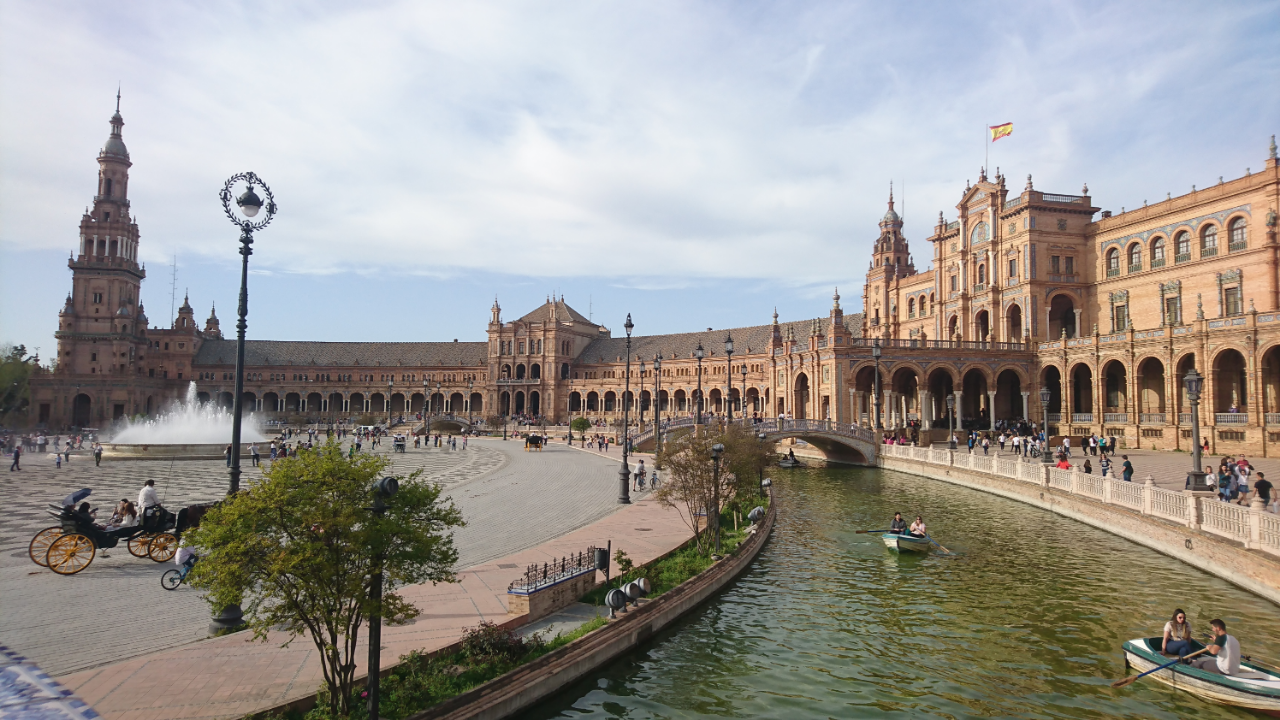Photo 3: Plaza de Espana, un endroit juste magique