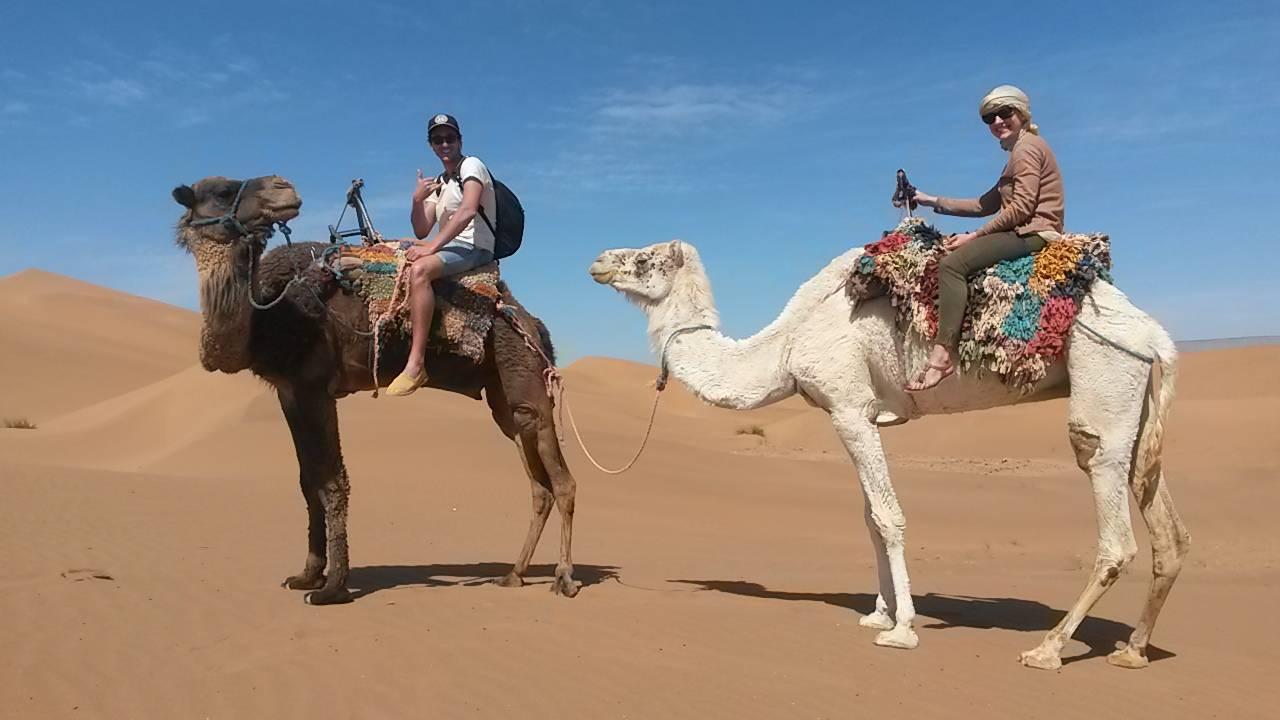 Photo 3: De Ouarzazate aux portes du désert avec Abdelkadere