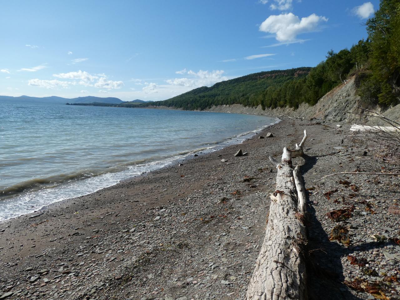 Photo 1: Parc National de Miguasha, sur la trace de nos ancêtres, Gaspésie