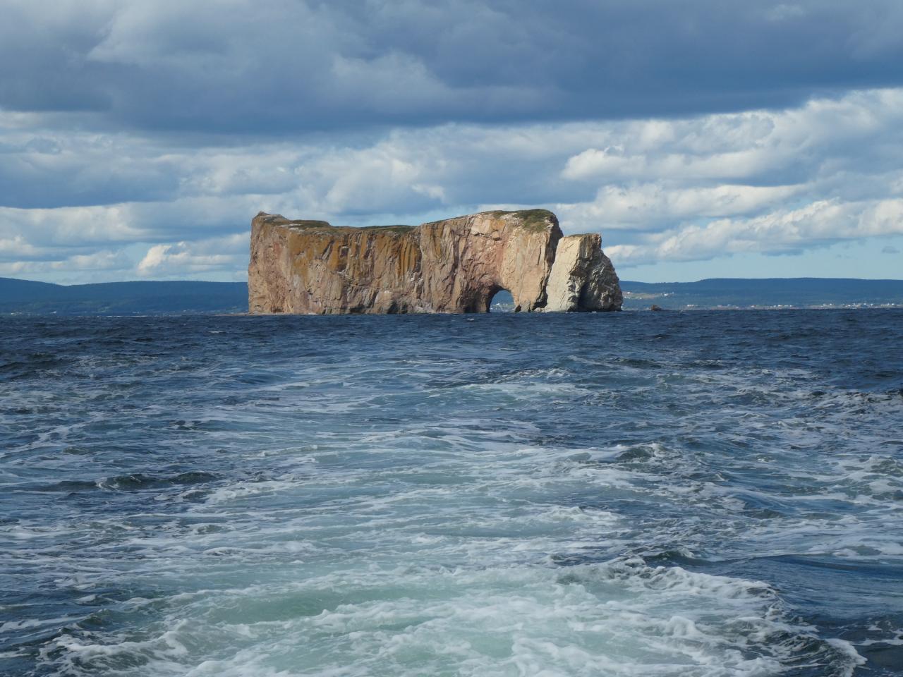 Photo 1: Percé et son rocher, Gaspésie