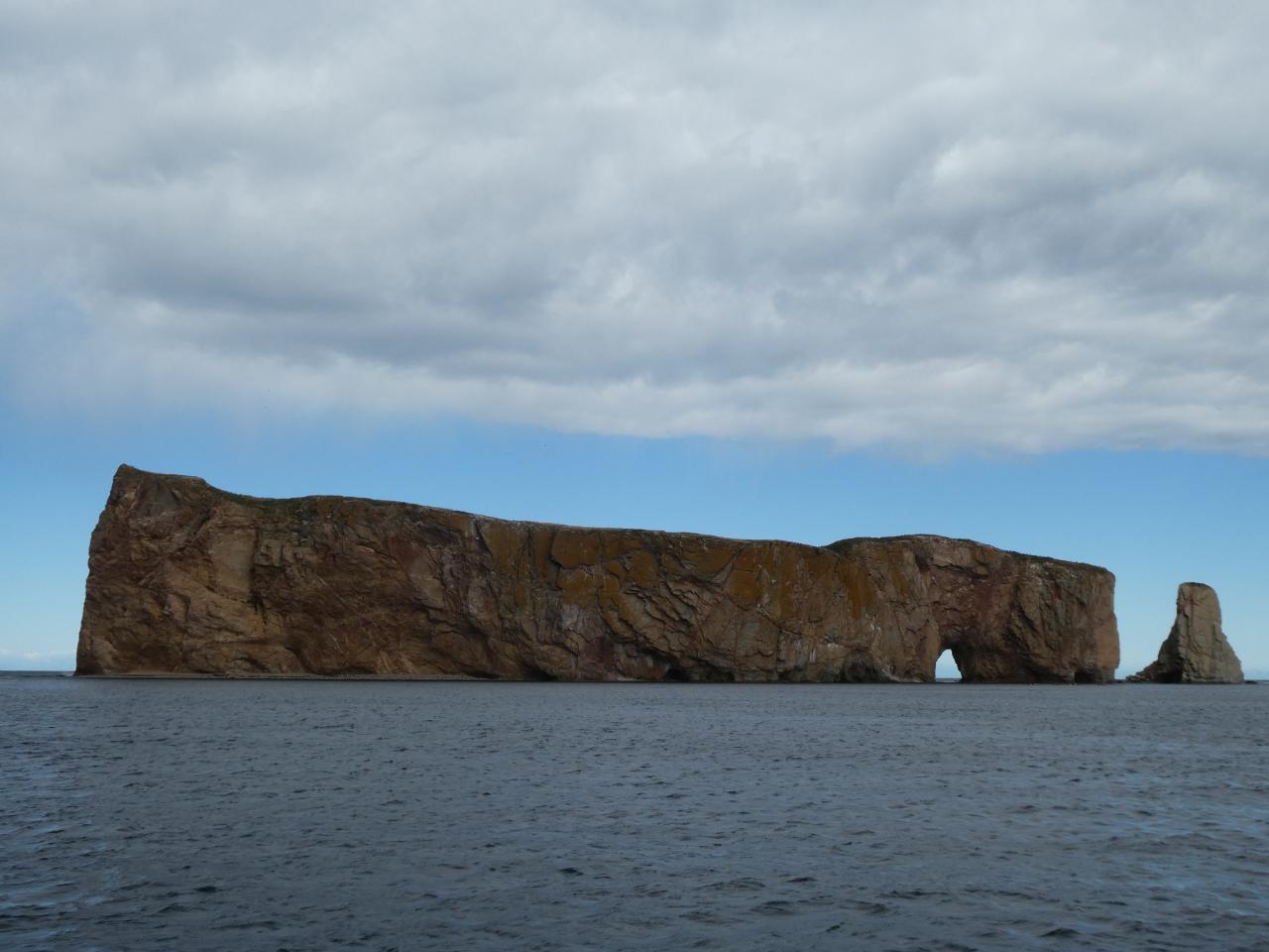 Photo 2: Percé et son rocher, Gaspésie