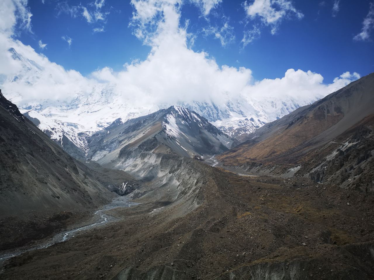 Photo 1: Le Grand tour des Annapurnas-Népal