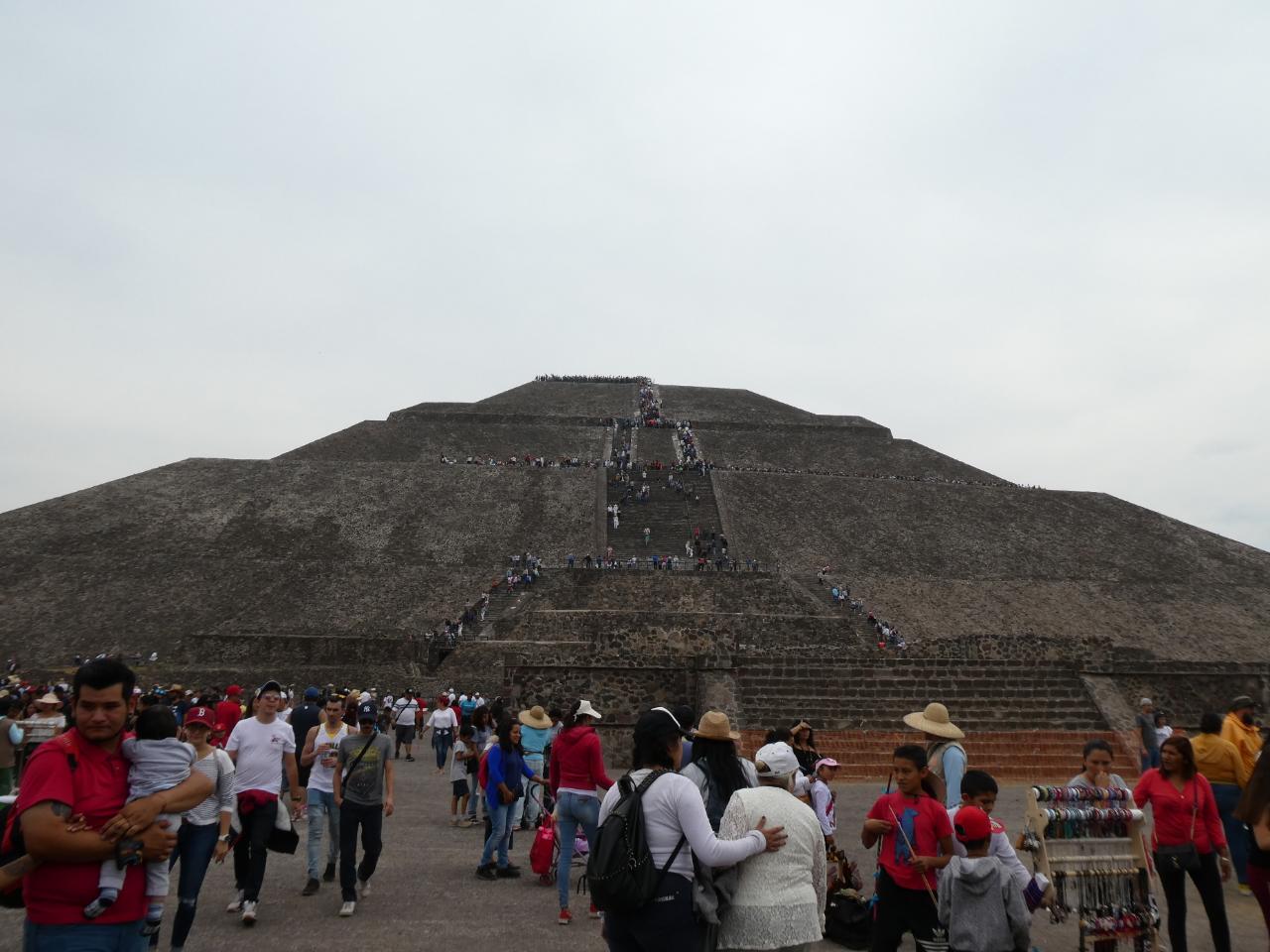 Photo 1: Teotihuacan, une merveille au nord de Mexico City