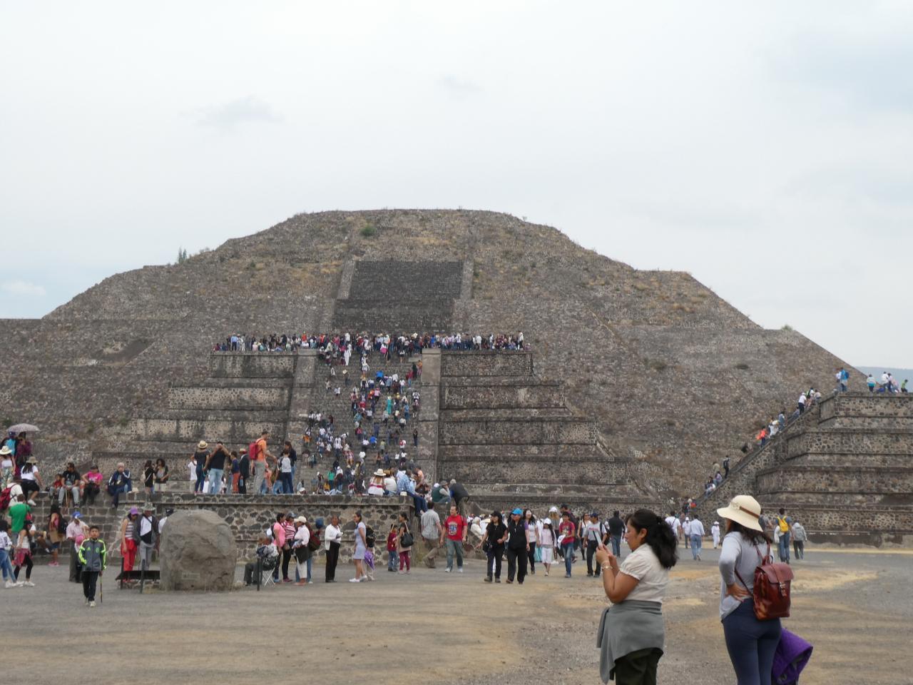 Photo 2: Teotihuacan, une merveille au nord de Mexico City