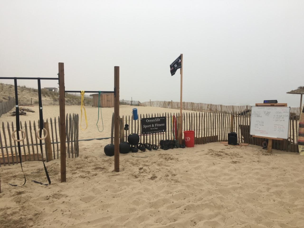 Photo 2: Ocean xfit, du sport sur la plage à Lacanau