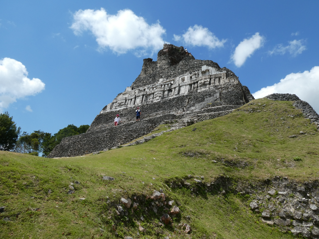 Photo 1: Site de Xunantunich au Belize