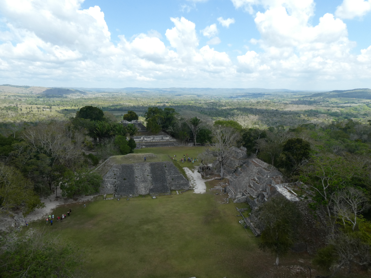 Photo 3: Site de Xunantunich au Belize