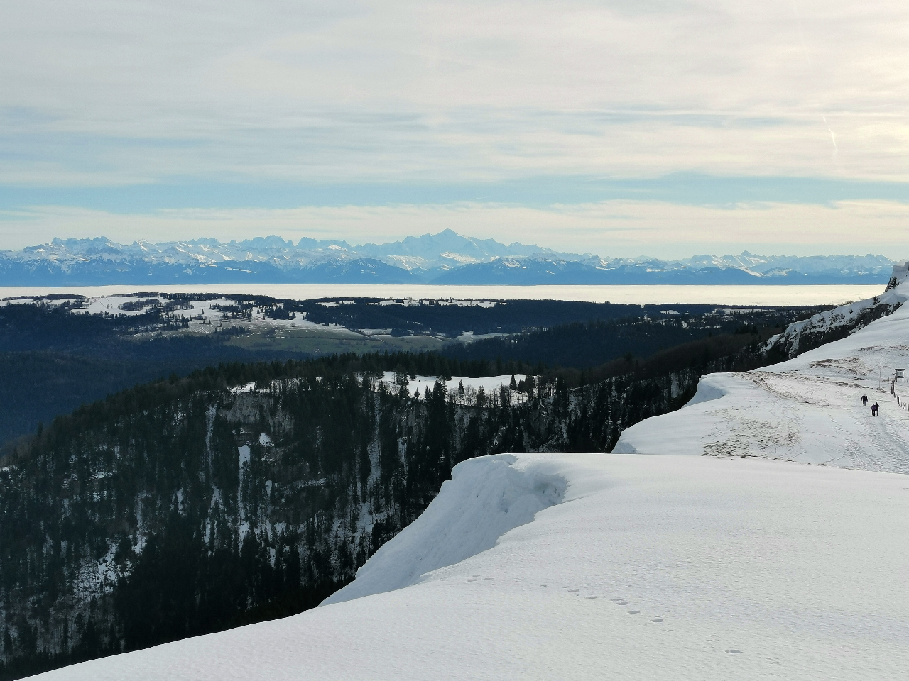 Photo 1: Une superbe journée hivernale dans le Haut-Doubs