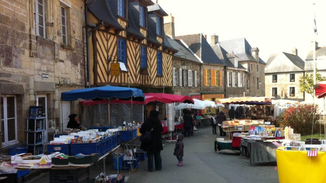 Photo 1: Bécherel, la petite cité du livre