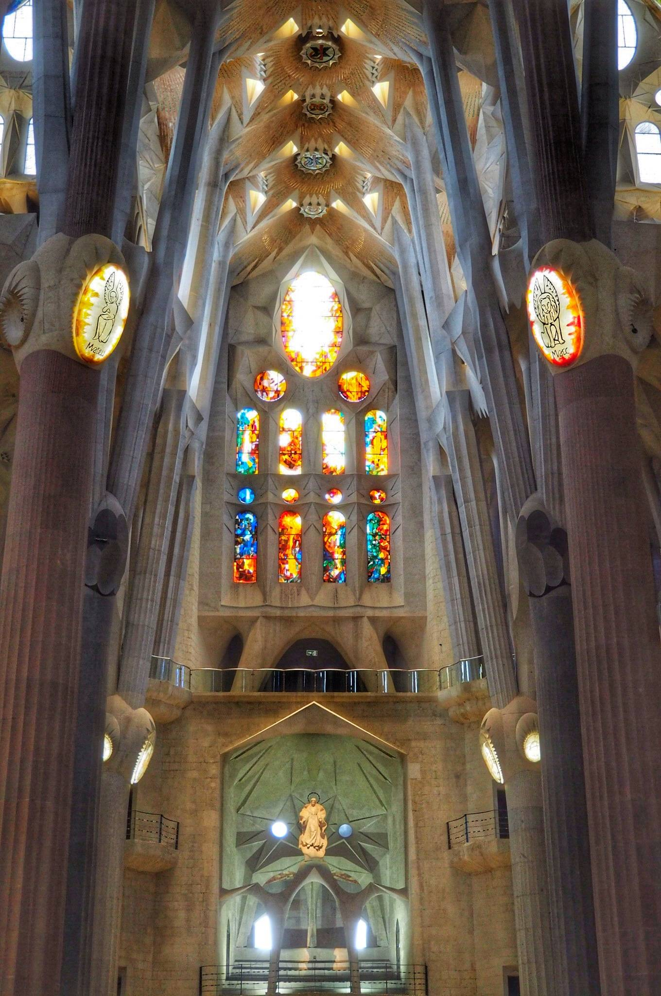 Photo 2: La Sagrada Familia, fantastique !