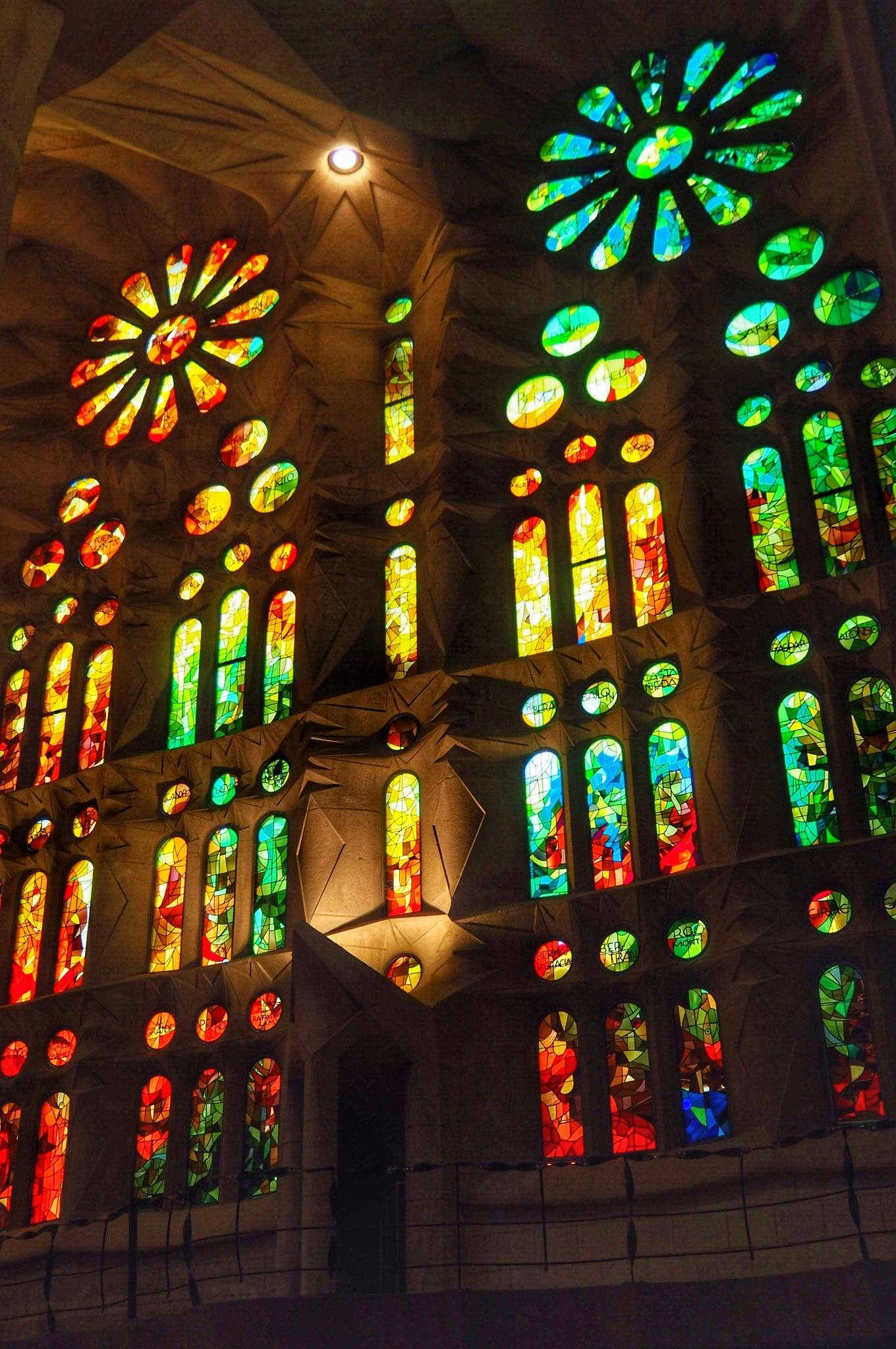 Photo 3: La Sagrada Familia, fantastique !
