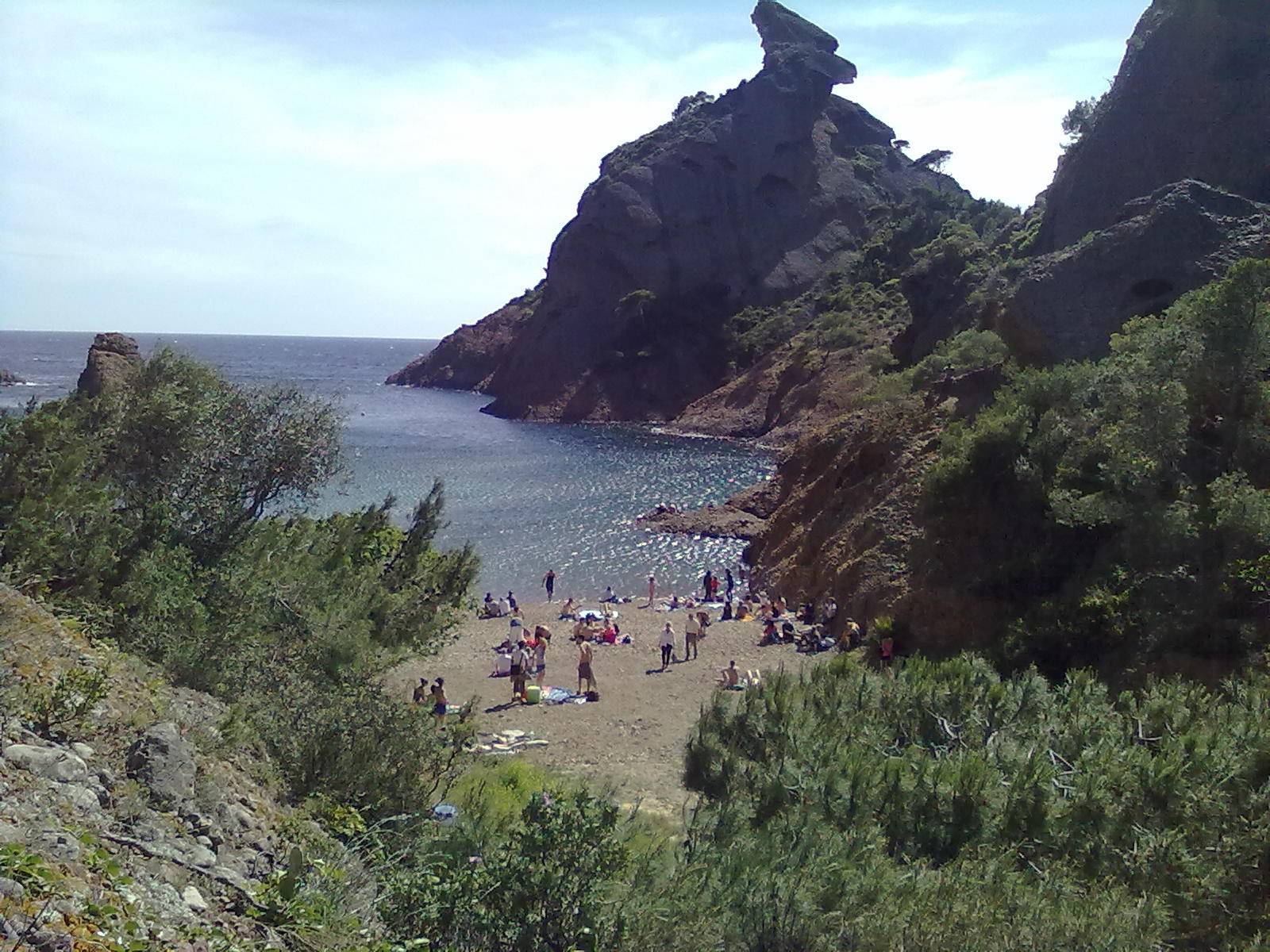 Photo 1: La calanque de figuerolles