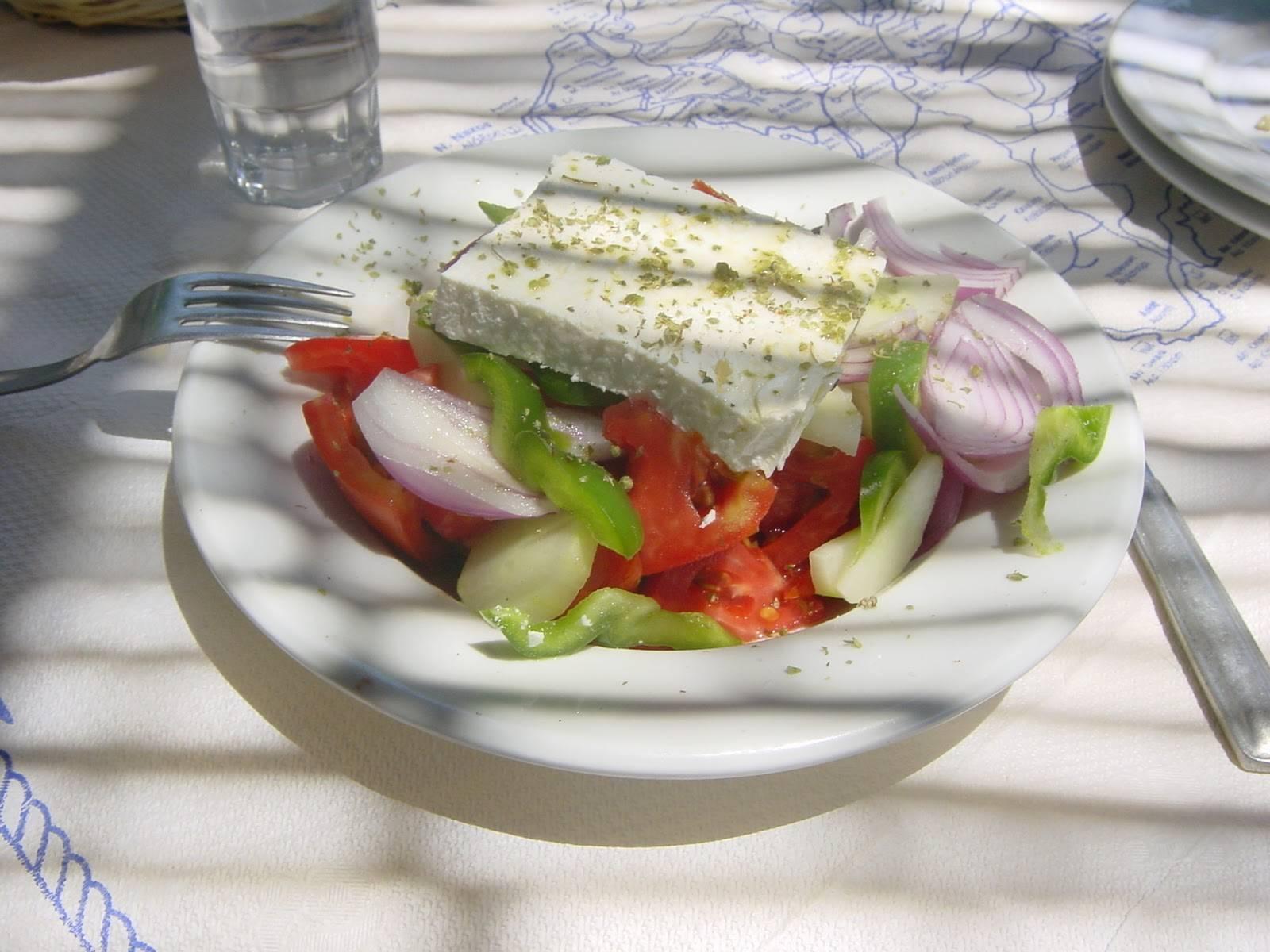 Photo 1: la salade grecque du bout du monde