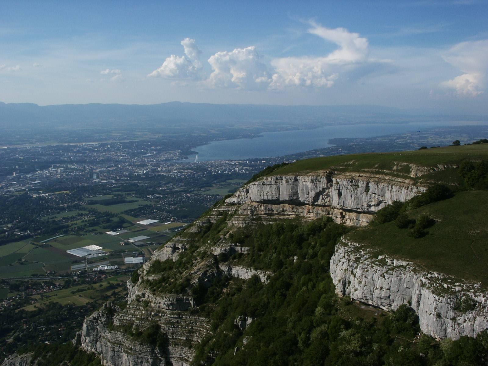 Photo 3: Admirer Genève depuis le Salève