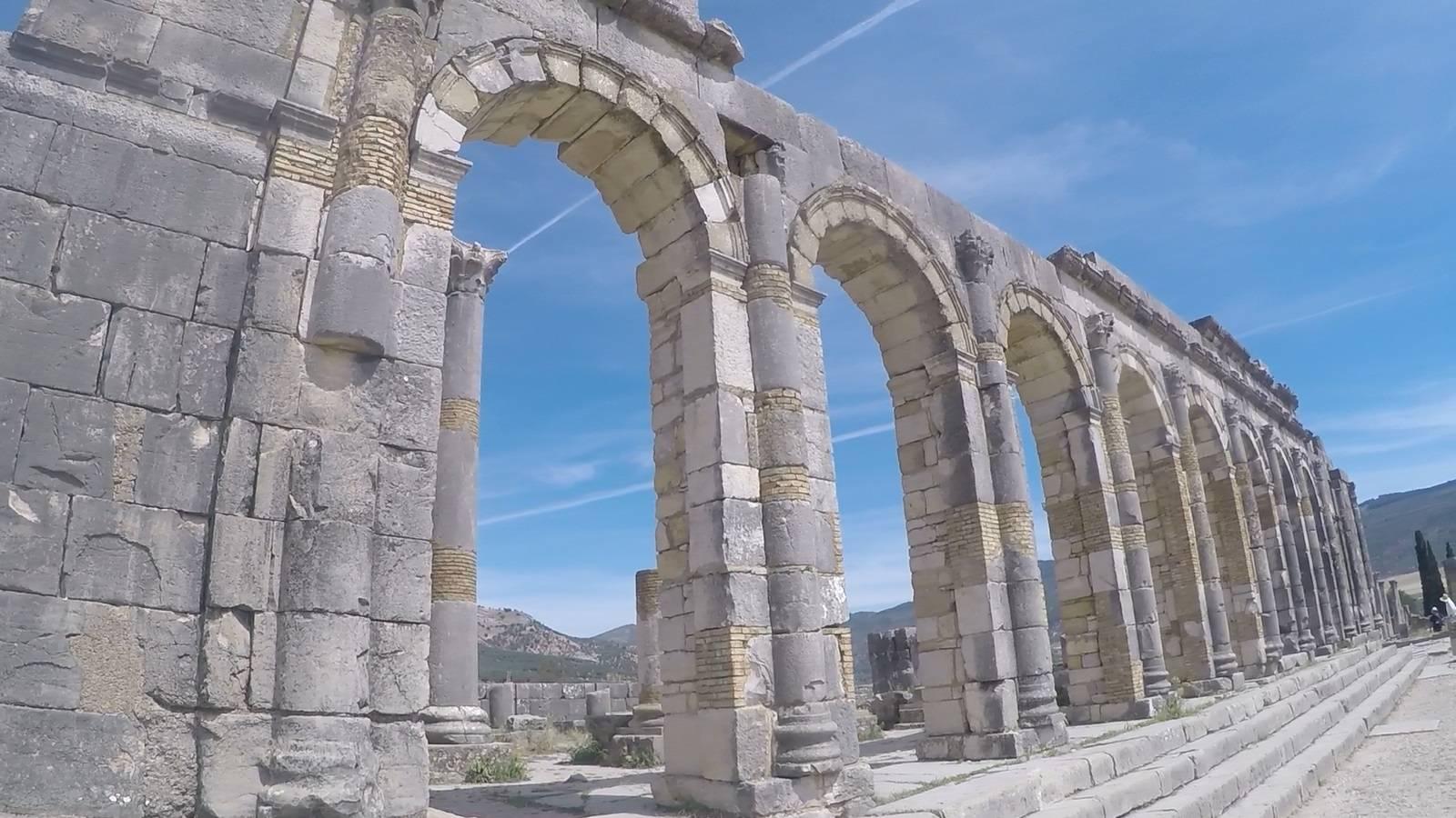 Photo 1: Volubilis - Ruines romaines au Maroc