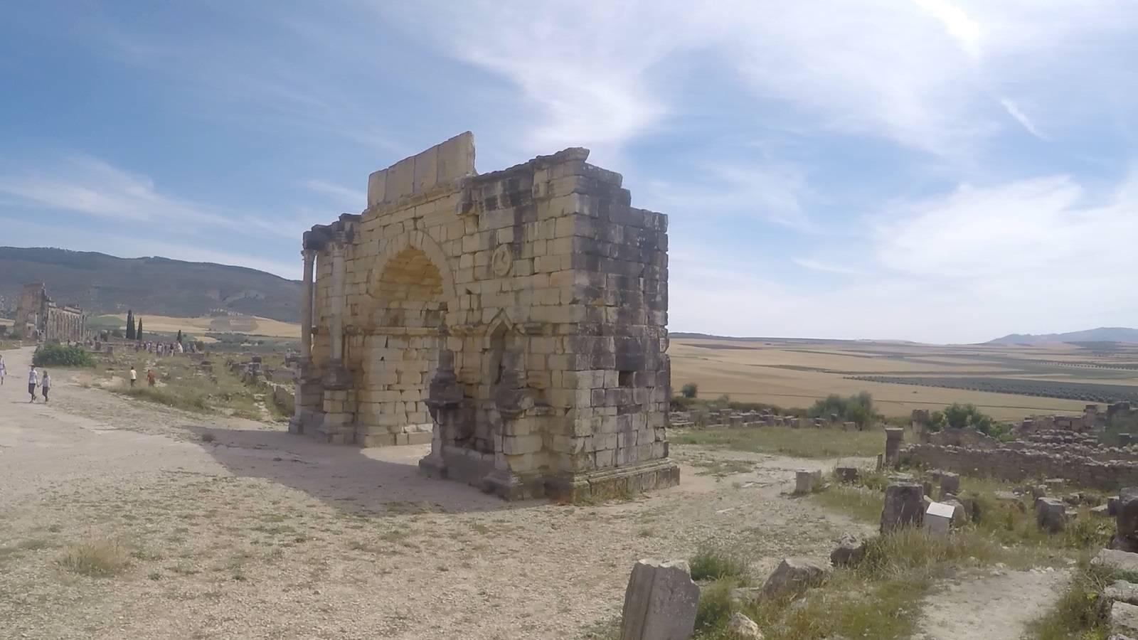 Photo 3: Volubilis - Ruines romaines au Maroc