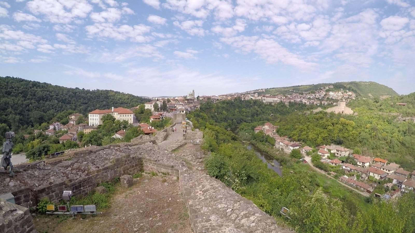 Photo 3: Veliko Tarnovo, ancienne capitale de la Bulgarie