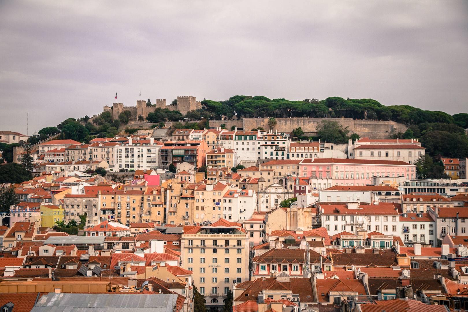 Photo 2: Château Saint-Georges - Lisbonne