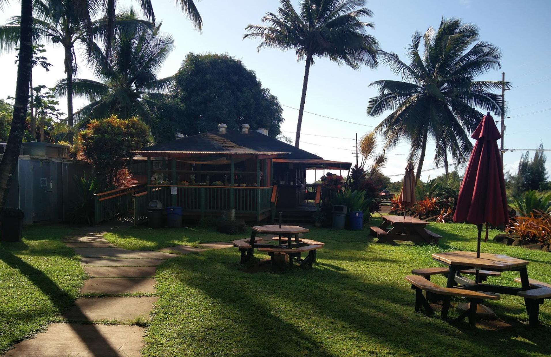 Photo 1: Moloaa Sunrise Fruit stand