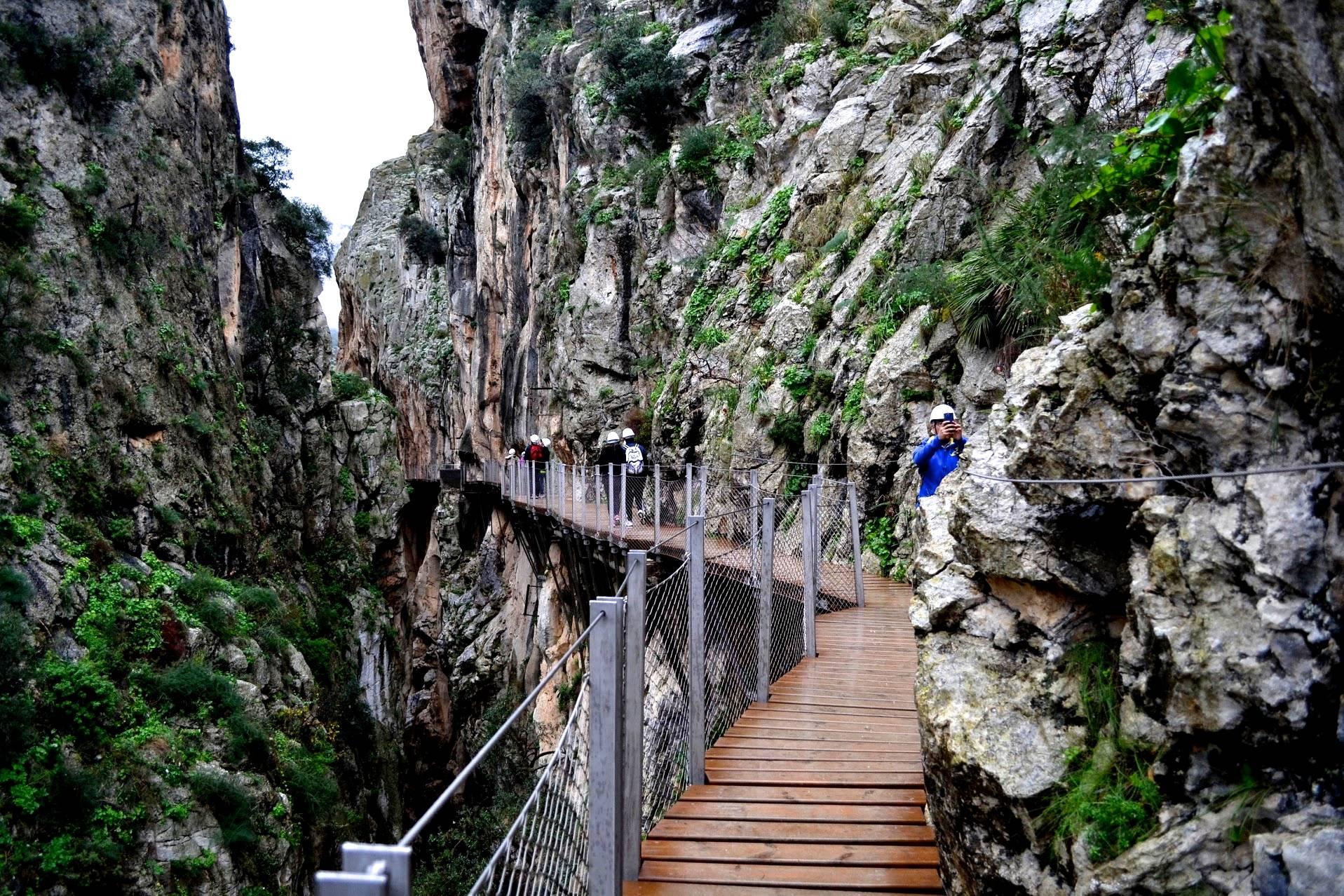 Photo 1: El Caminito del Rey, Andalousie, Espagne