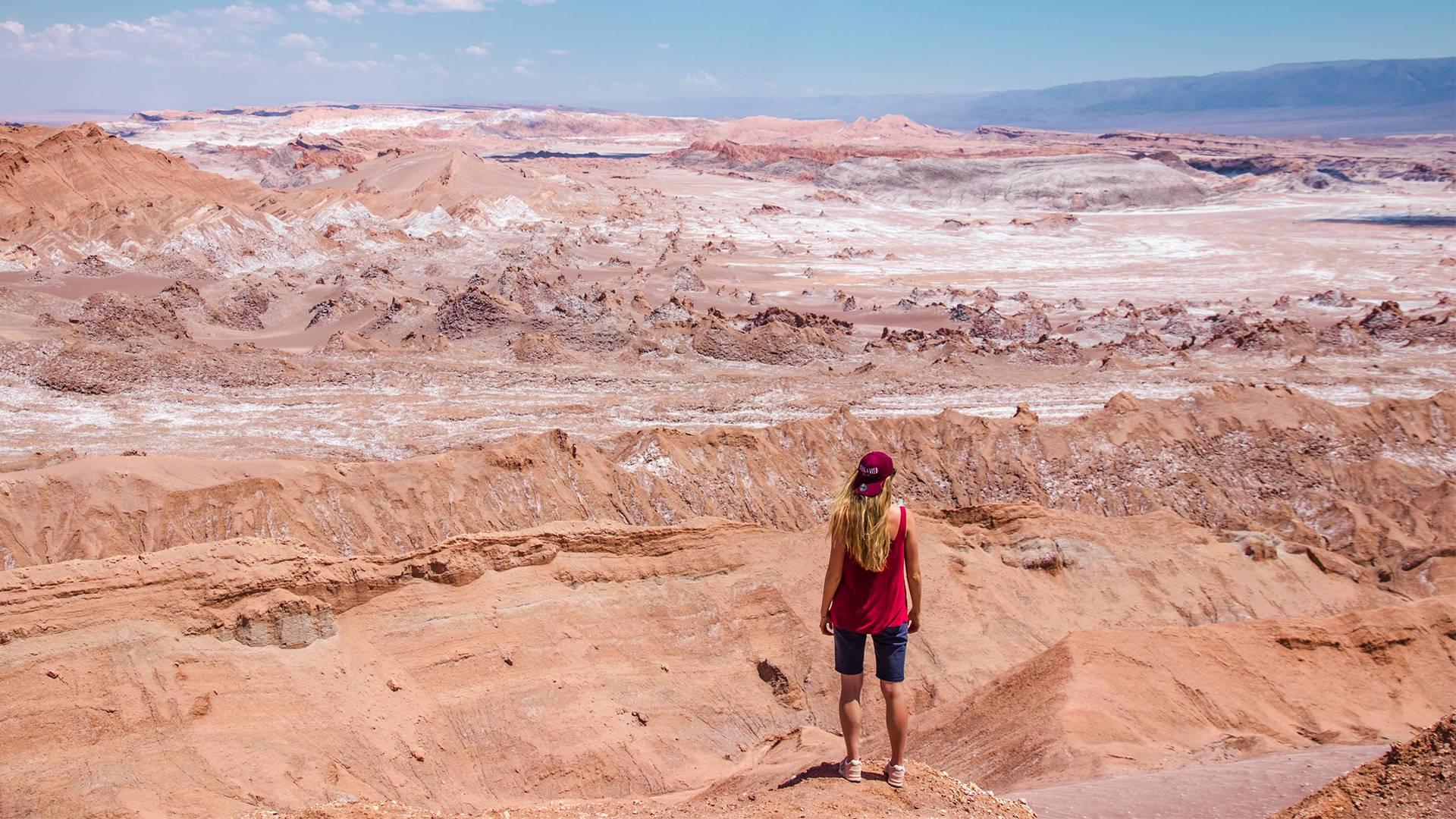 Photo 1: La vallée de la lune - Atacama désert