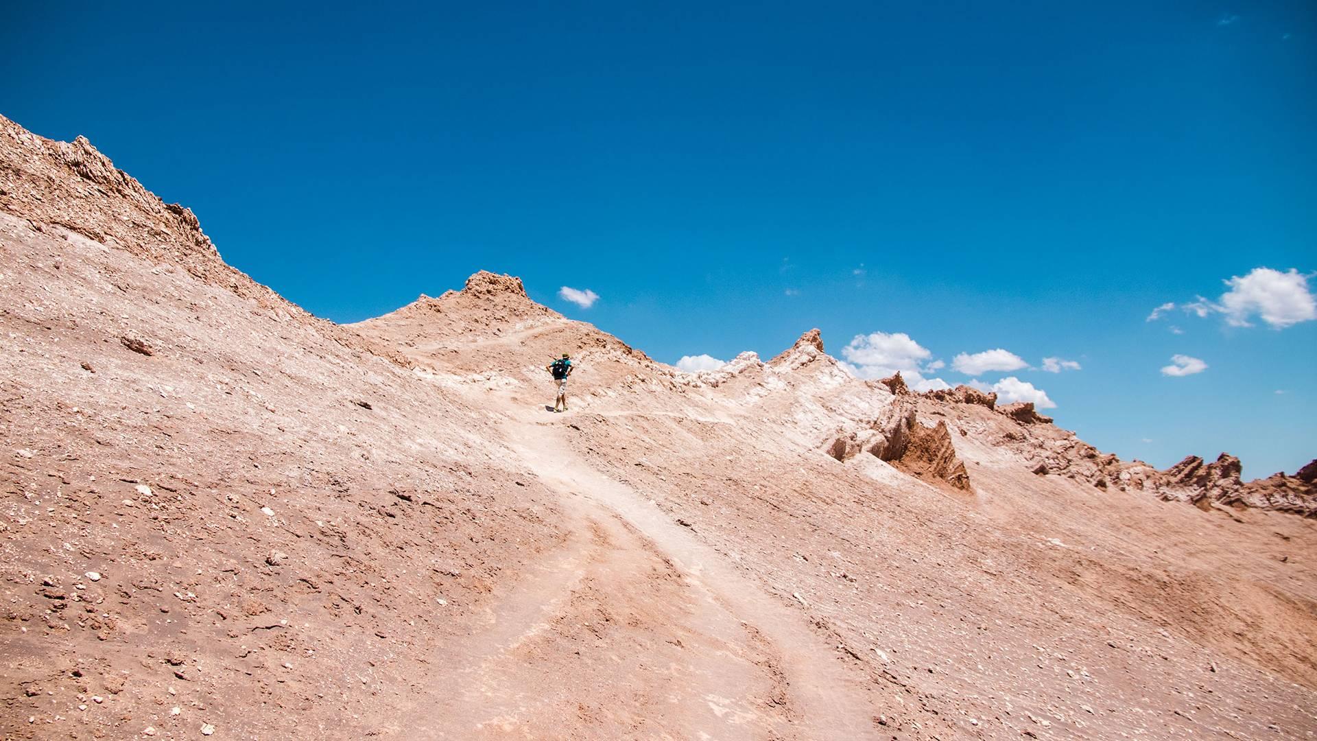 Photo 3: La vallée de la lune - Atacama désert