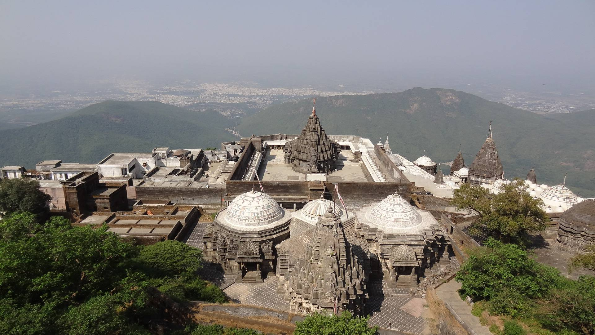 Photo 1: Un lieu de pèlerinage au Gujarat