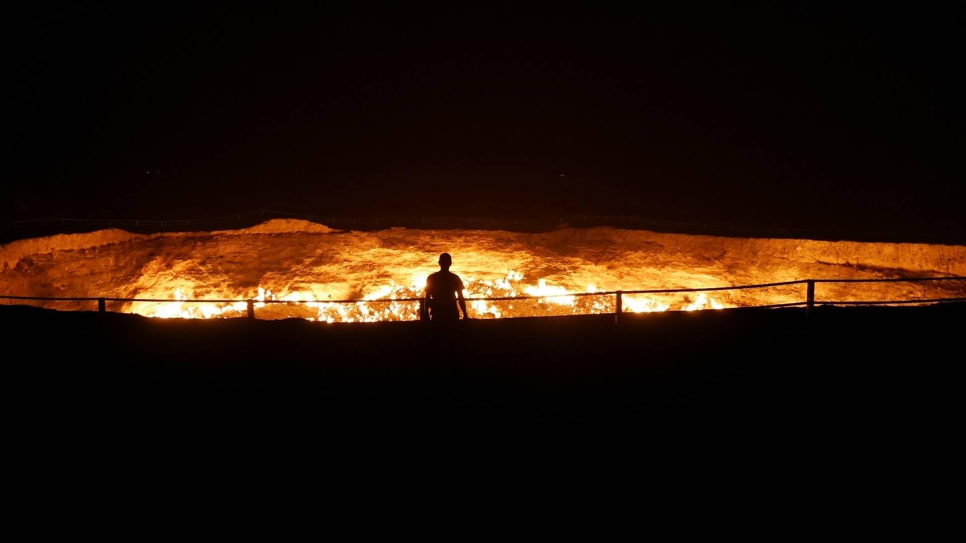Photo 1: Darvaza - Les portes de l'enfer