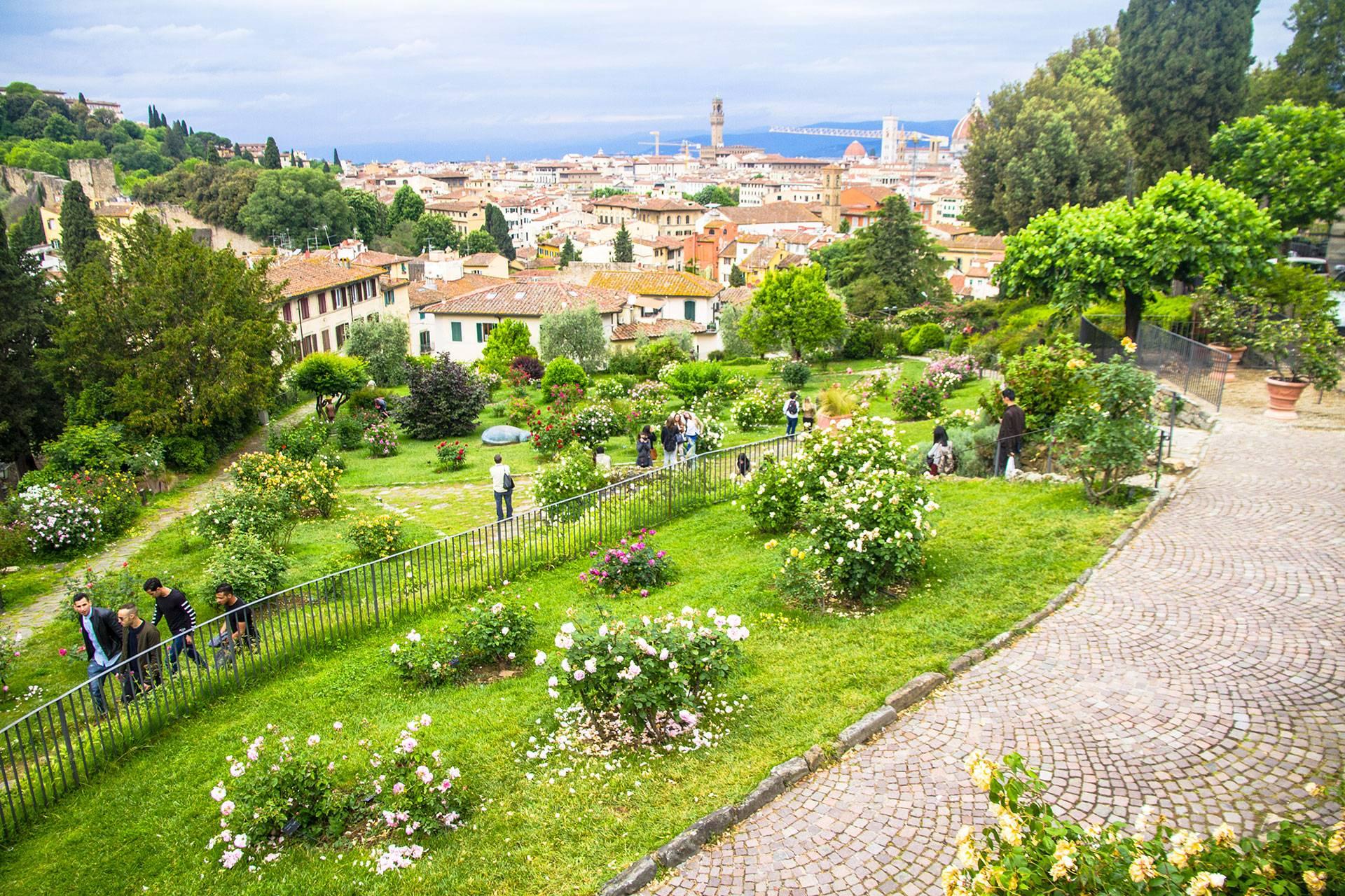 Photo 2: Florence - Le jardin des roses