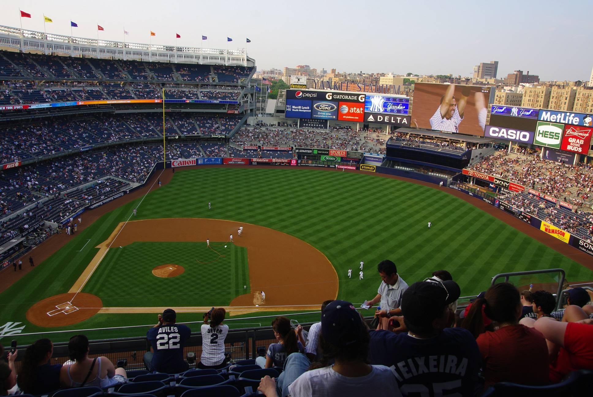 Photo 1: Encourager les Yankees comme un vrai !
