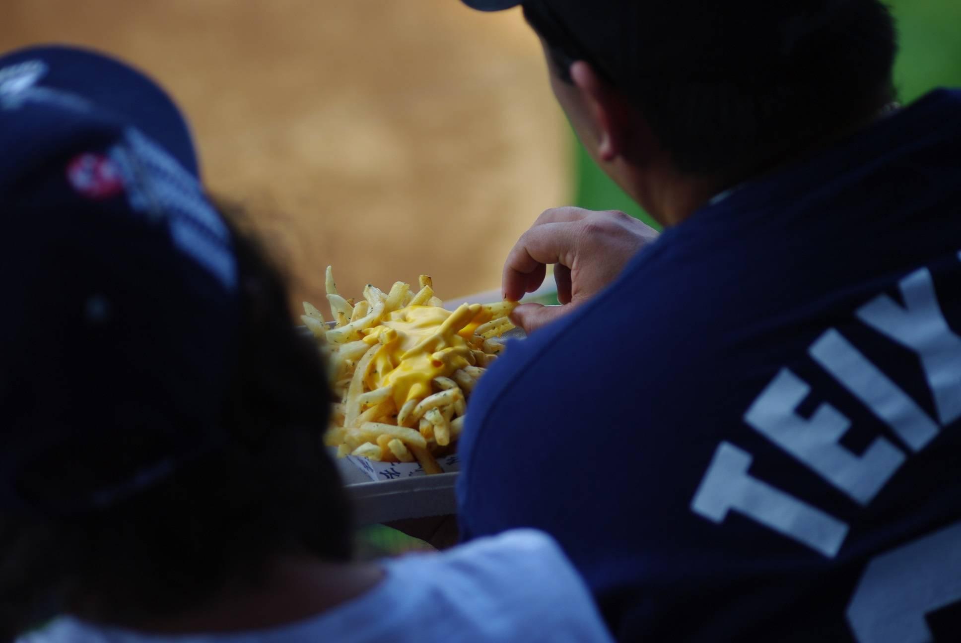 Photo 2: Encourager les Yankees comme un vrai !
