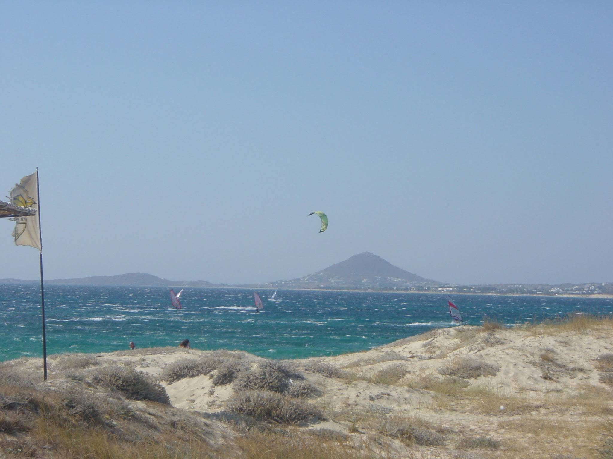 Photo 3: Naxos sous le vent du Meltem