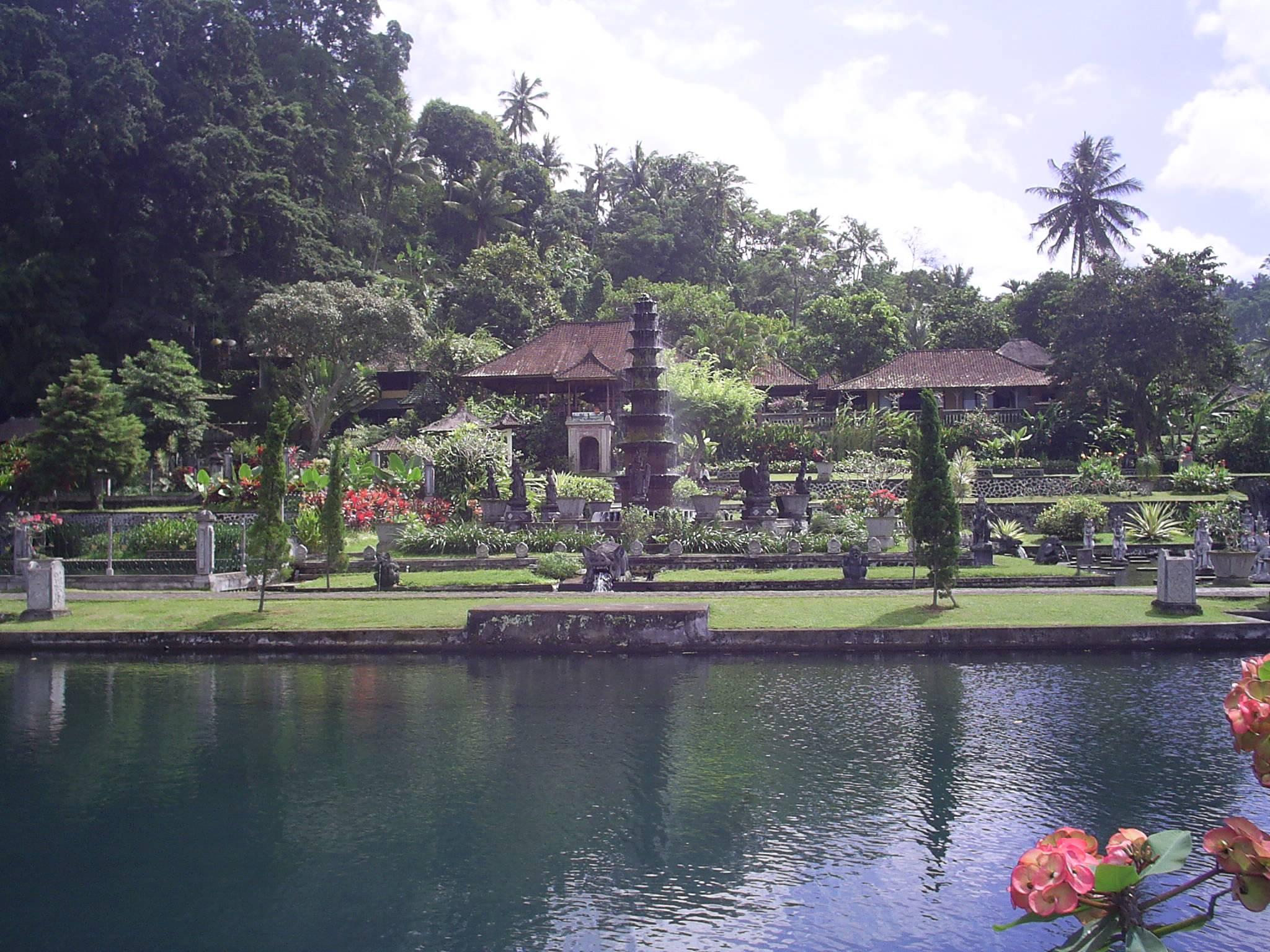 Photo 1: Tirta Gangga, le palais de l'eau