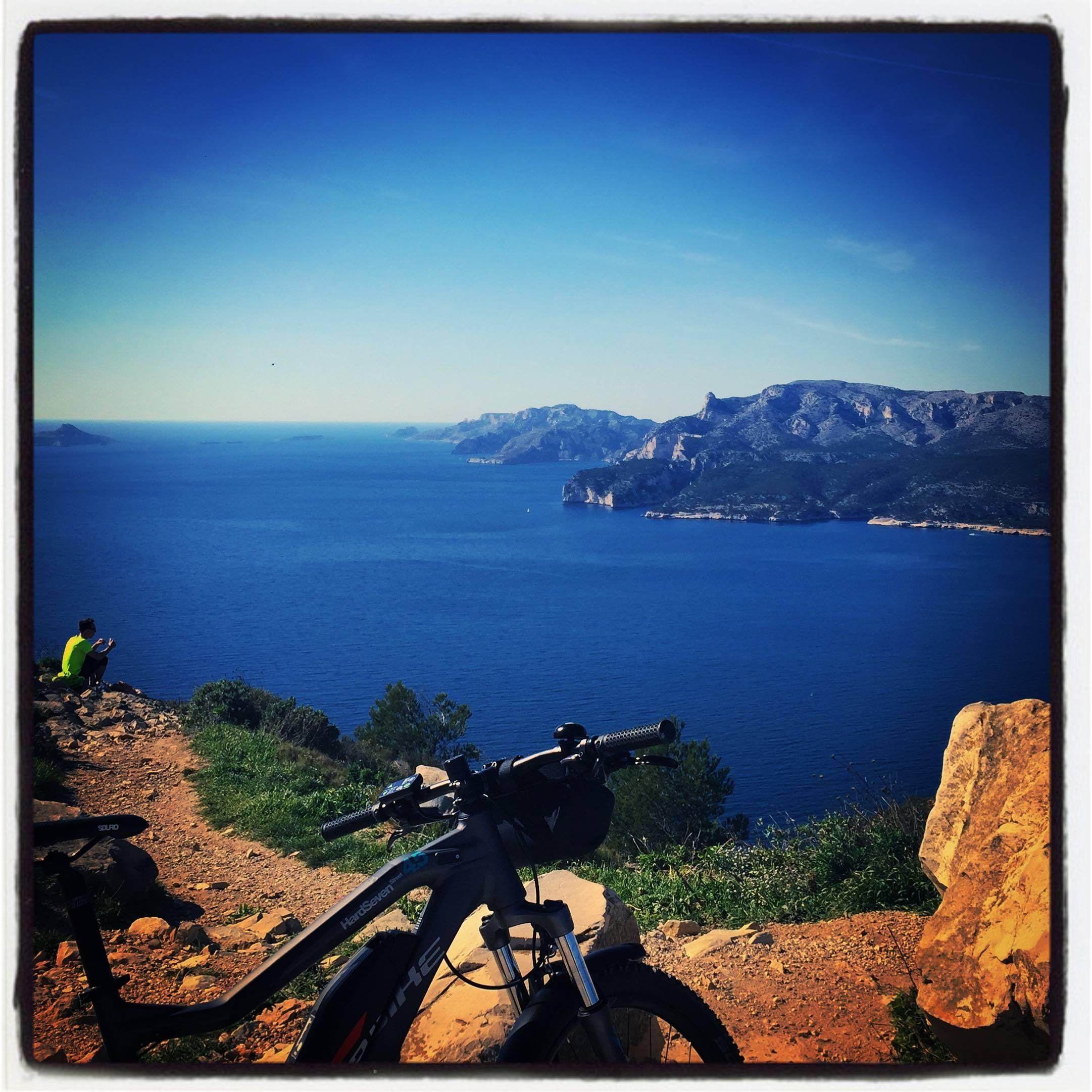 Photo 2: La route des crêtes en vélo électrique