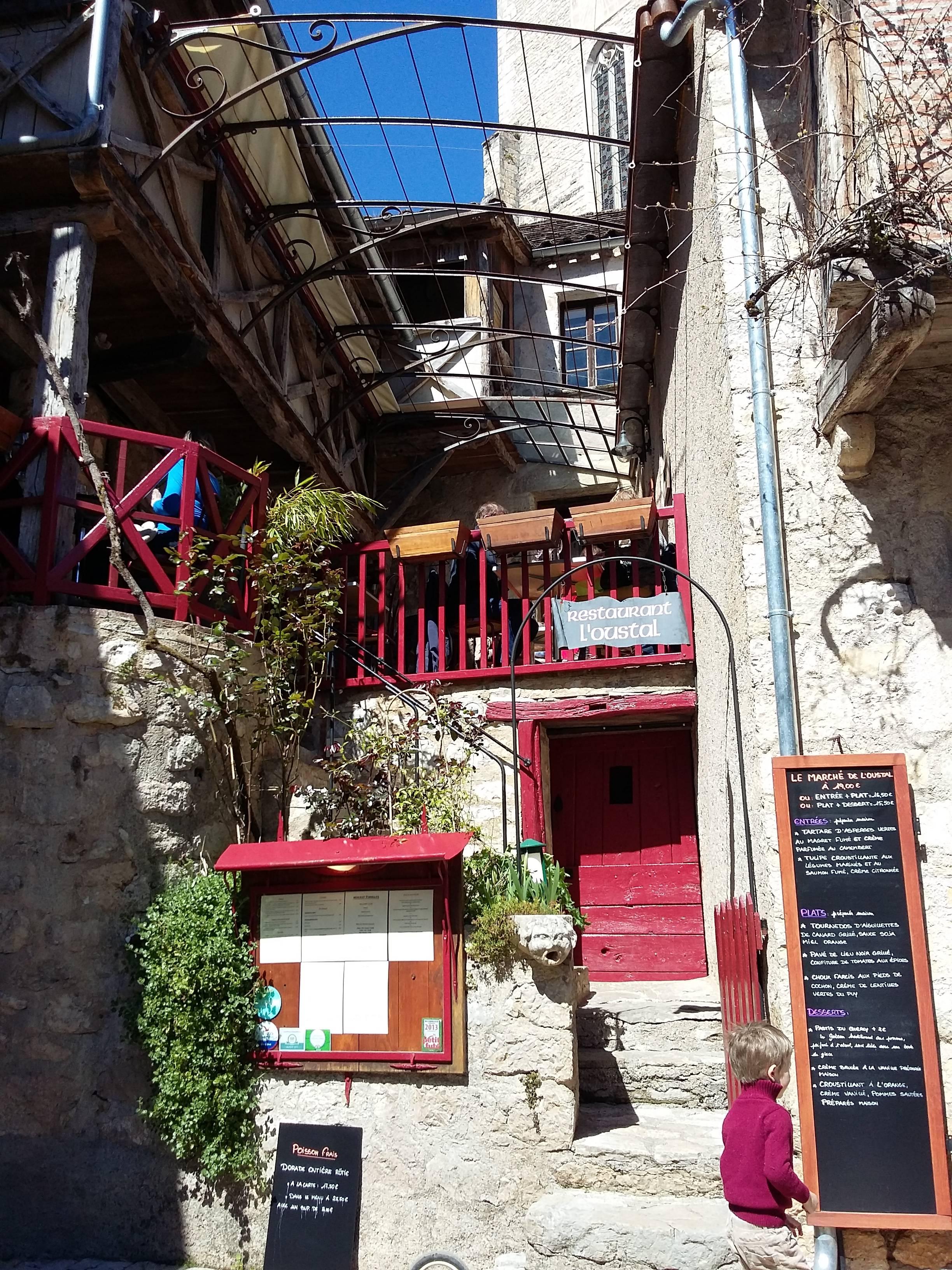 """Photo 2: Le restau """"bonne surprise"""" à Saint cirq lapopie"""