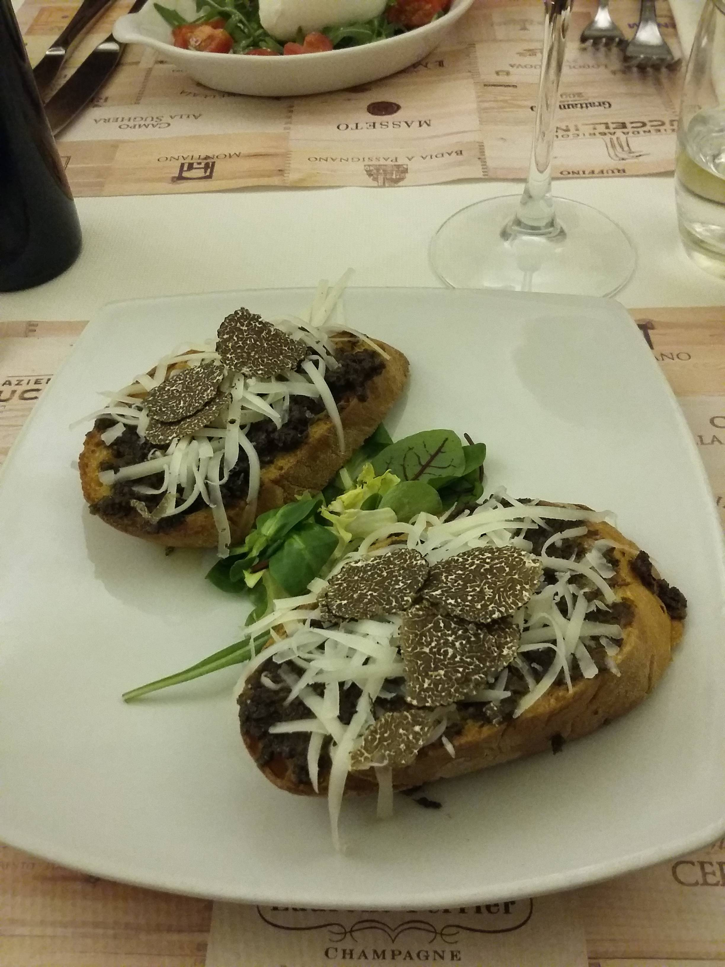 Photo 1: Osteria Barberini, la truffe sous toutes ses formes!